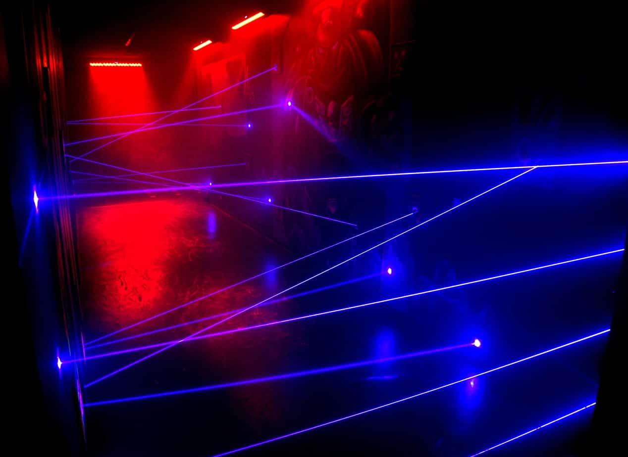 Laserspiel Lasermaze
