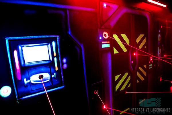 Lasergame Maze Mission