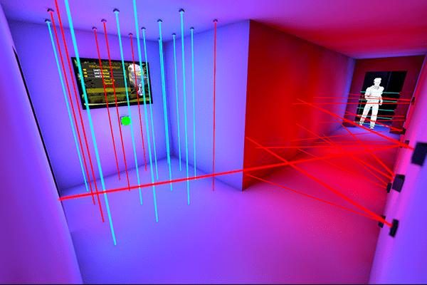 3D Visualisierung von Catch the Beam