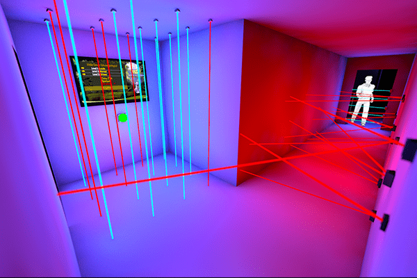 3D Visualisierung von Catch the Beam