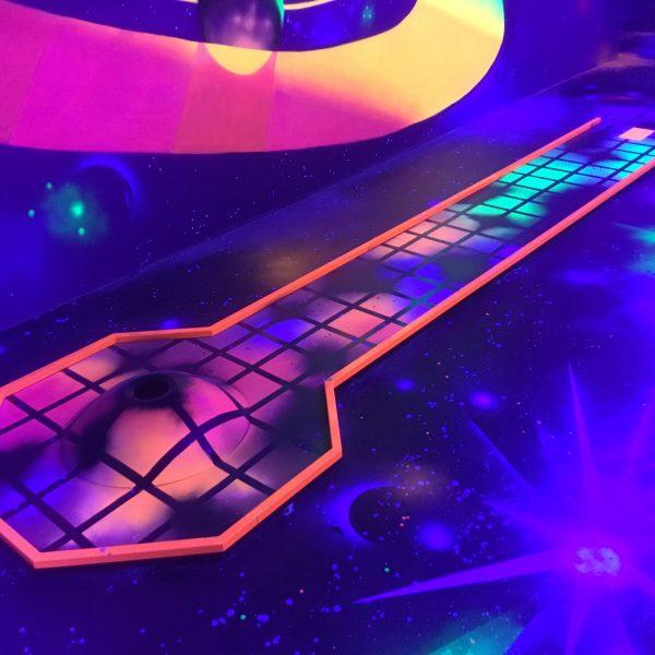Weltraum Minigolfbahn