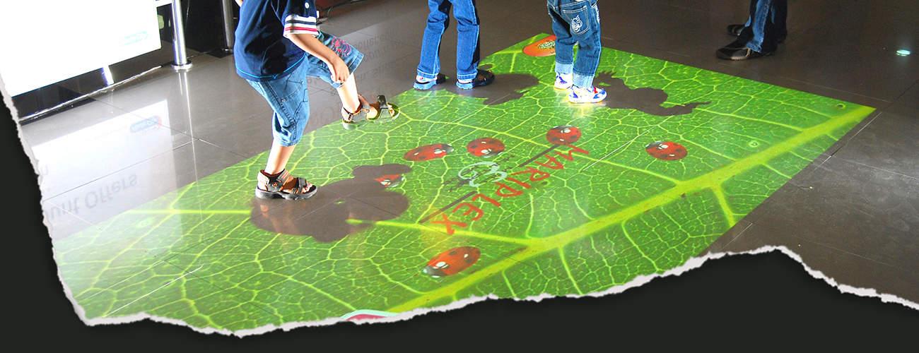Interaktive Bodenprojektion Slider 2