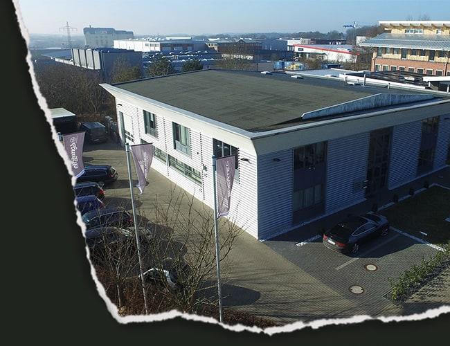 Hauptsitz der Firma Interactive Lasergames
