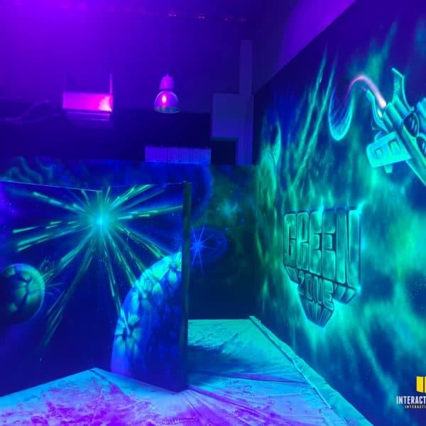 3D-Weltraum Welt in Husum