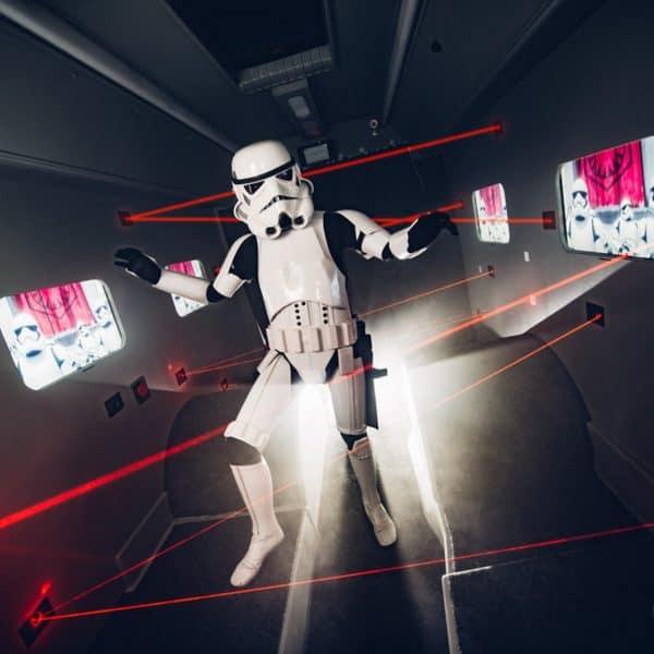 Maze Mission Laser game Star Wars