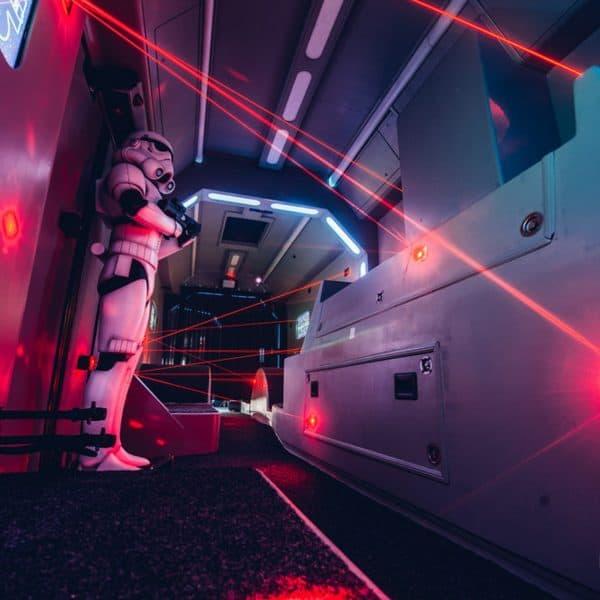 Star Wars Lasergame Maze Mission