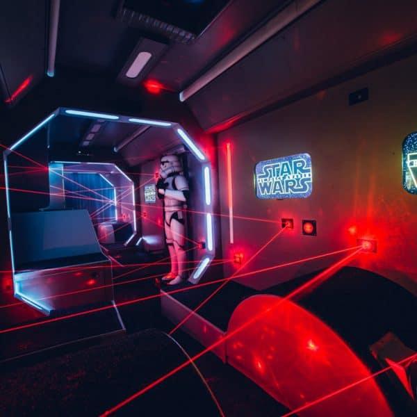 Star Wars Laser Adventure Tour - Main Slide