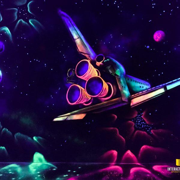 Raumschiff in 3D