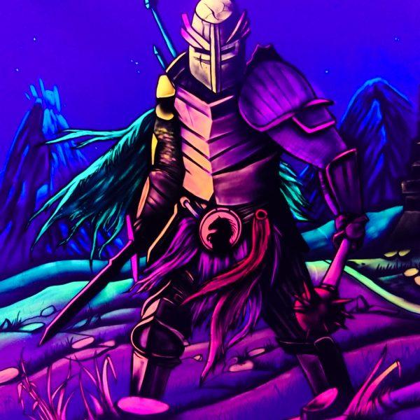 Schwarzlicht Krieger