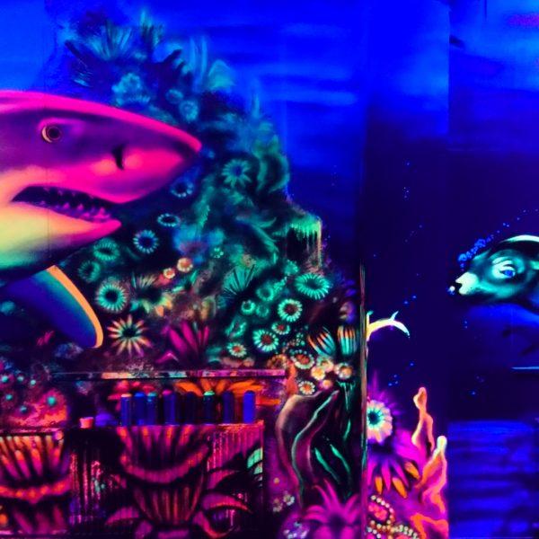 3D Unterwasser Bemalung