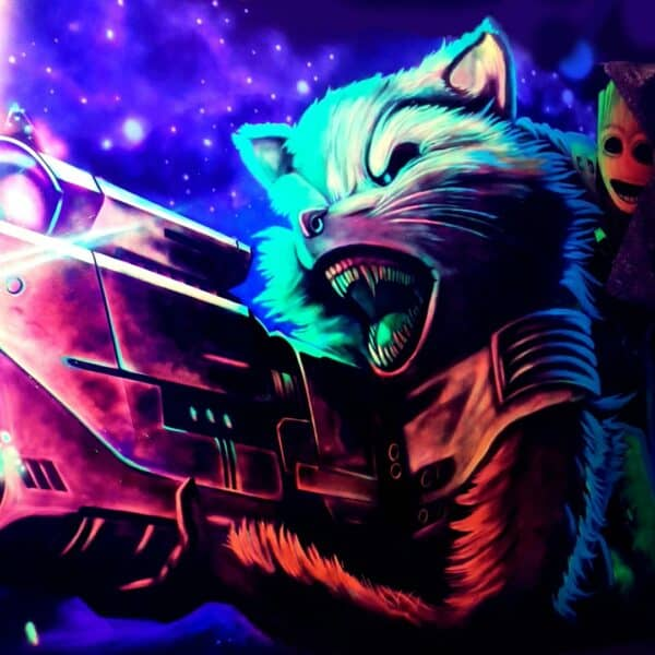 Lasermaze 3D Grafitti Kunst kaufen