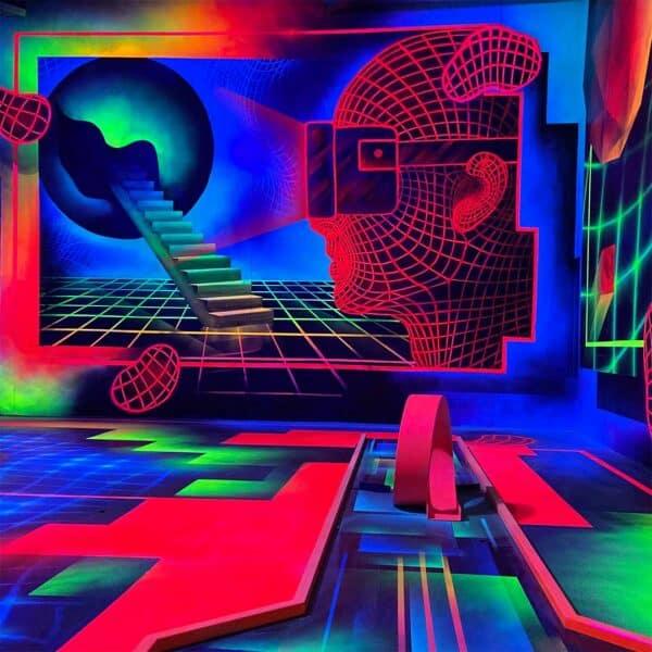 VR Brille Artwork